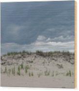 Storm Dune Wood Print