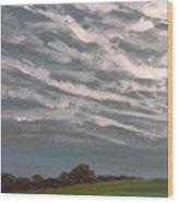 Storm Front Wood Print