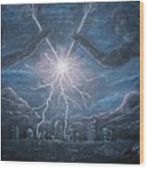Storm Games Wood Print