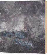 Storm In The Skerries. The Flying Dutchman Wood Print