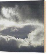 Storm Intensified Wood Print