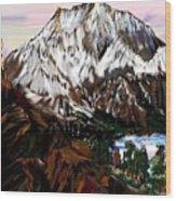 Storm King Mountain Wood Print