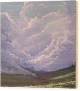 Storm on the Palouse Wood Print