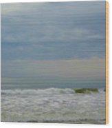 Storm Over The Atlantic Wood Print
