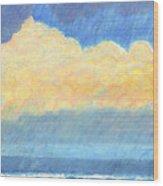 Storm Over Virginia Beach Wood Print