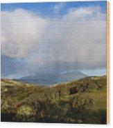 Storm Passing Over Morgan Territory Wood Print