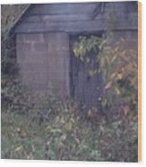 storm Shelter Wood Print