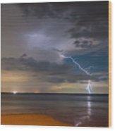 Storm Tension Wood Print