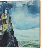Storm The Castle Wood Print