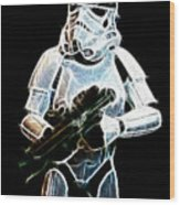 Storm Trooper Wood Print