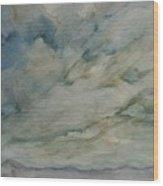 Storm Warning II Wood Print
