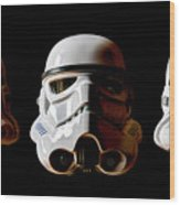 Stormtrooper 1-3 Wood Print