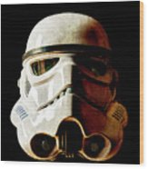 Stormtrooper 1 Weathered Wood Print