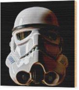 Stormtrooper 1 Wood Print
