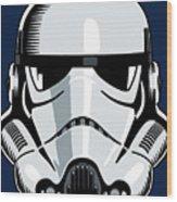 Stormtrooper Wood Print by IKONOGRAPHI Art and Design