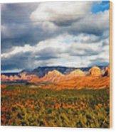Stormwatch Arizona Wood Print