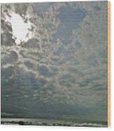 Stormy Afternoon Wood Print