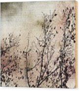 Stormy Autumn - Nature Art Wood Print