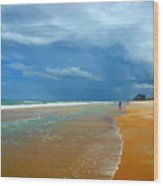 Stormy Day Ormond Wood Print