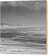 Stormy Oceanside Oregon Wood Print