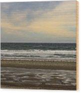 Stormy View Of Nantsaket Beach Wood Print