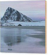 Storsandnes, Lofoten - Norway Wood Print