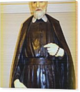 St.philip Neri Wood Print
