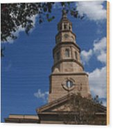 St.philips Church Charleston Sc Wood Print