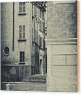 Strada Al Duomo - The Road To The Duomo Wood Print
