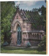 Strader Mausoleum Wood Print