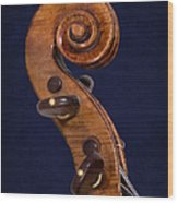 Stradivarius Scroll Wood Print