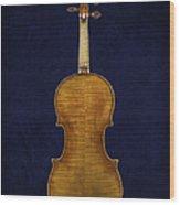 Stradivarius Violin Back Wood Print