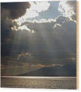 Strait Of Messina II Wood Print
