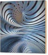 Strange Attraction Wood Print