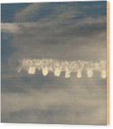 Strange Cloud Formation 2 Wood Print