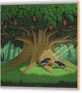 Strange Fruit Wood Print