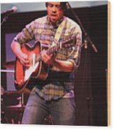 Strange Vine Guitarist Toby Cordova Wood Print