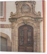 Strasbourg Door 09 Wood Print