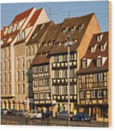 Strasbourg Wood Print