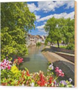 Strasbourg, Half-tmbered Houses, Petite France, Alsace, France Wood Print