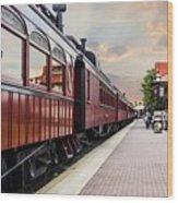 Strasburg Railroad Wood Print