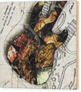 Strat Abstracta No. 4 Sunrise Wood Print