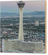 Stratosphere Casino Hotel And Tower Wood Print