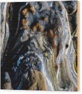 Stratum Oceanus Wood Print