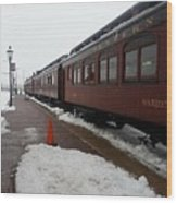 Strausburg Railroad Wood Print
