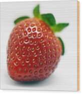 Strawberries 02 Wood Print