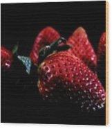Strawberries Wood Print