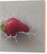 Strawberry And Milk Wood Print