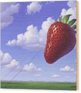 Strawberry Field Wood Print