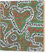 Strawberry Fields Wood Print